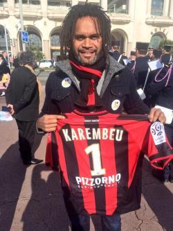 ... del Madrid y actual representante del Olympiakos, Christian Karembeu