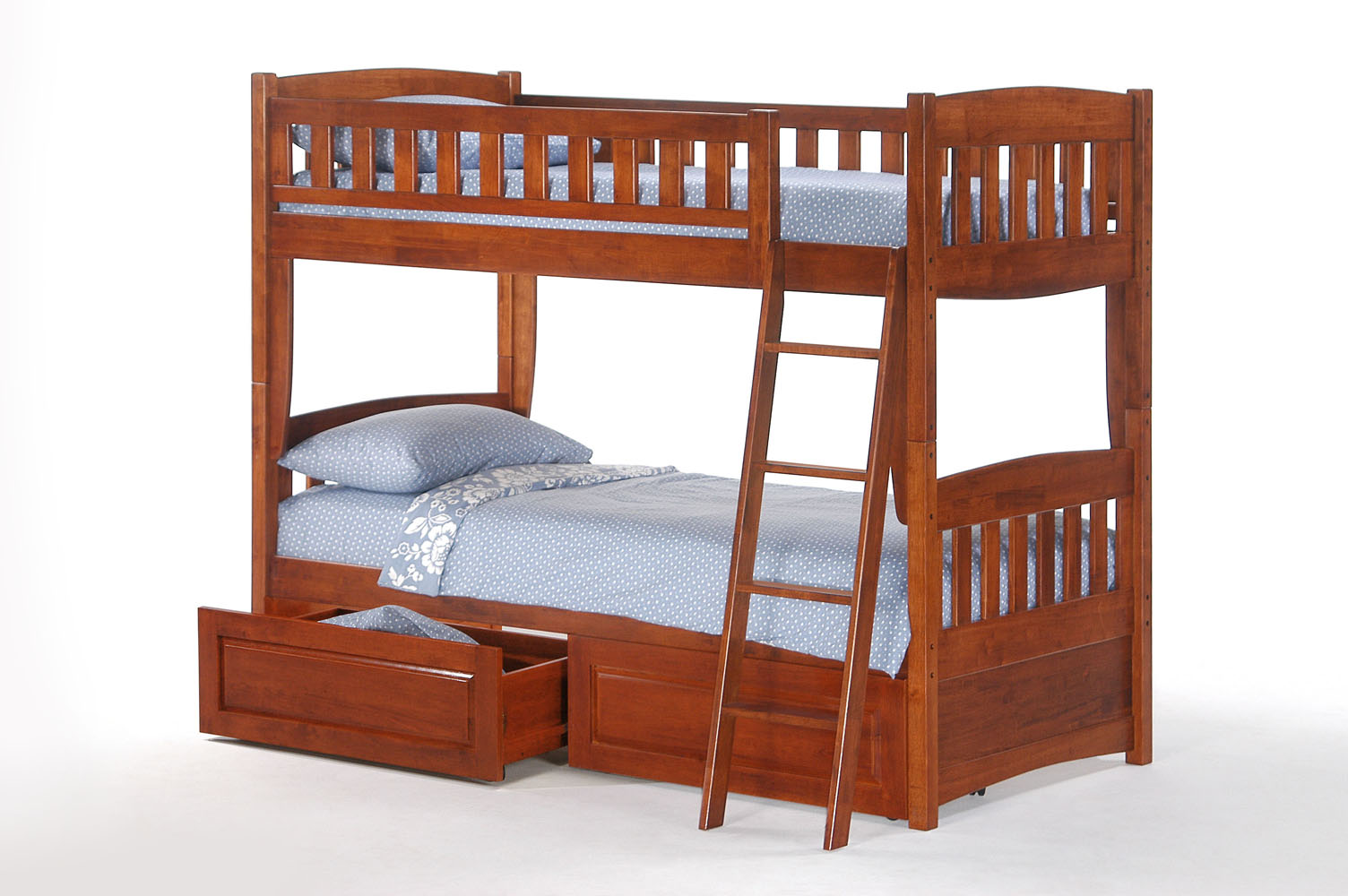 Futon Etage Sesame Kid Bunkbed Night Day