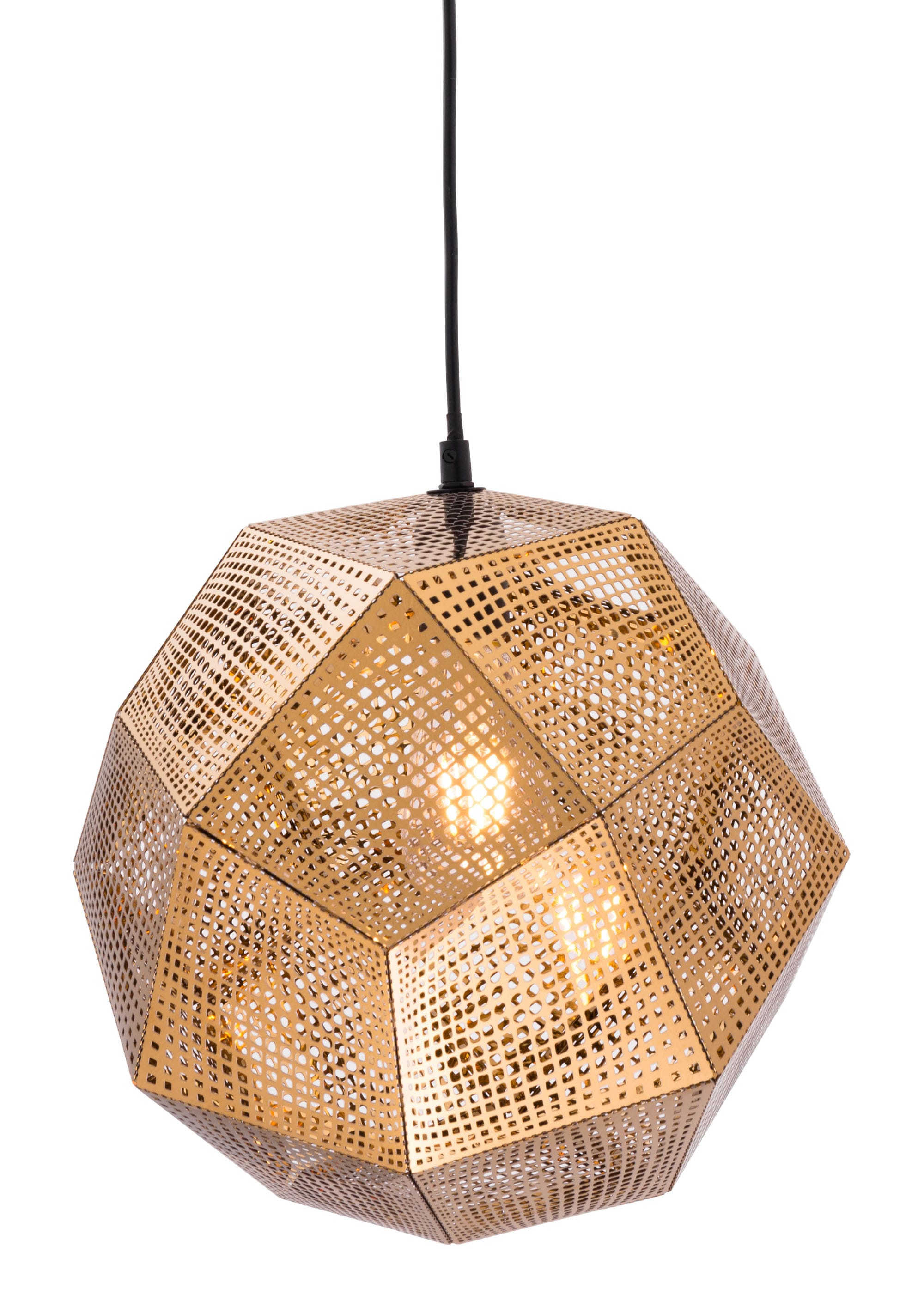 Zuo Modern Lighting Canada Bald Ceiling Lamp Gold By Zuo Modern