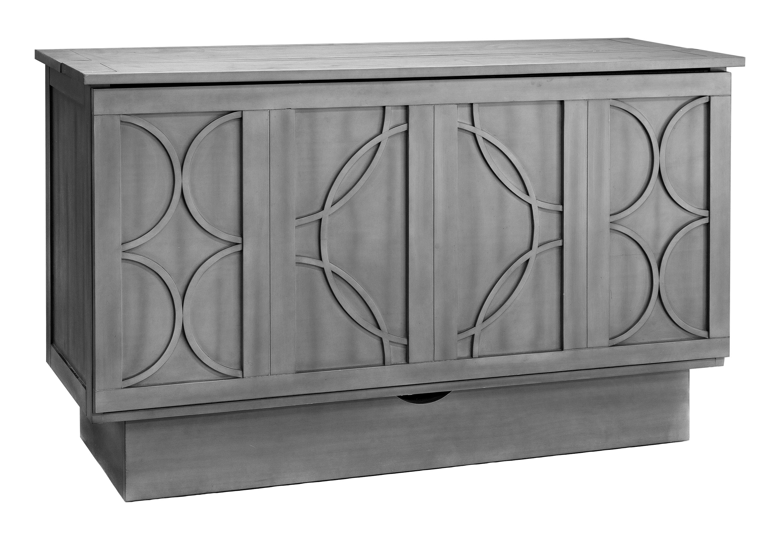 White 6 Drawer Chest Brussels Queen Murphy Cabinet Bed Charcoal By Arason Furniture