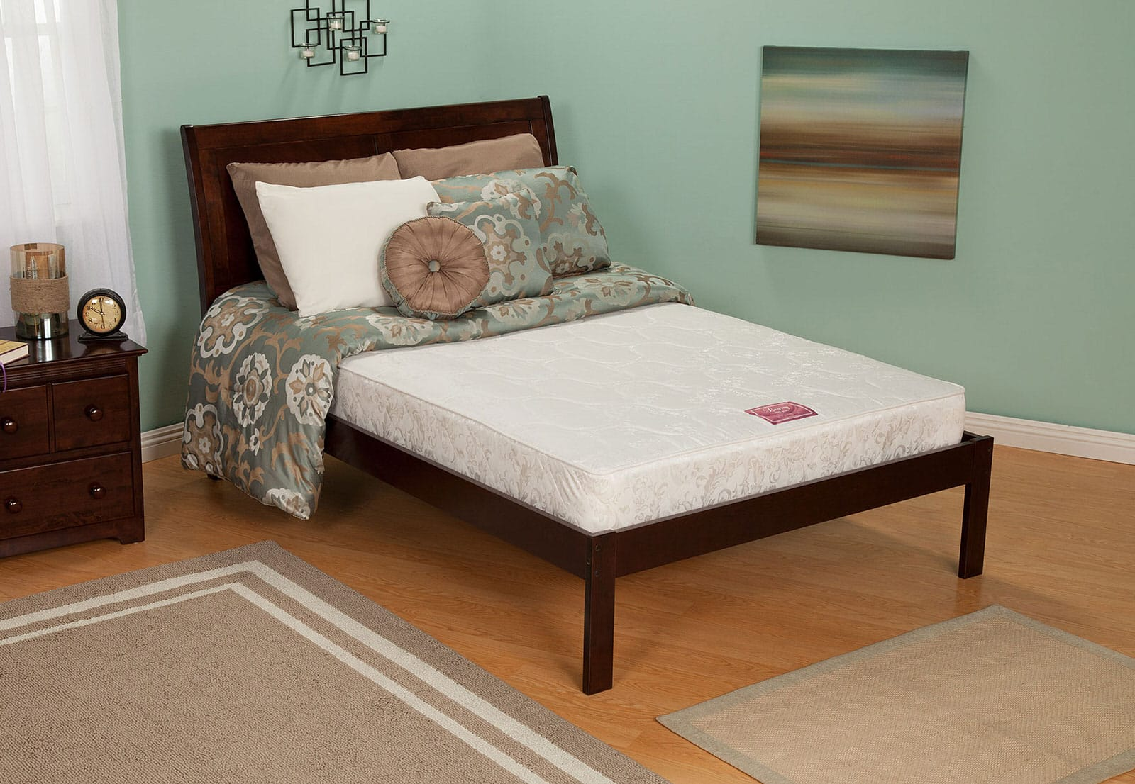 Mattress Platform Portland Platform Bed With Mattress Set