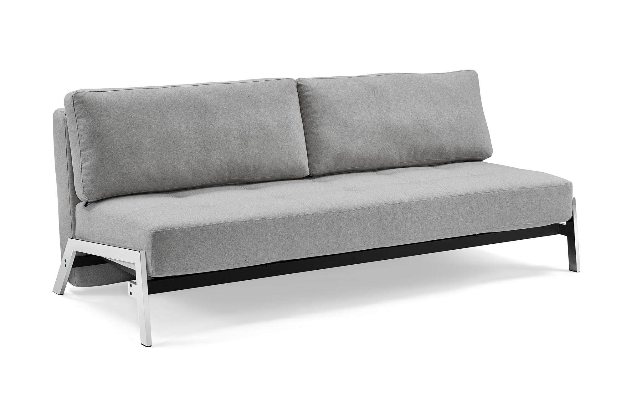 Futon Convertible 1 Place Borolo Madrid Gray Dropback Sofa Convertible By Sealy
