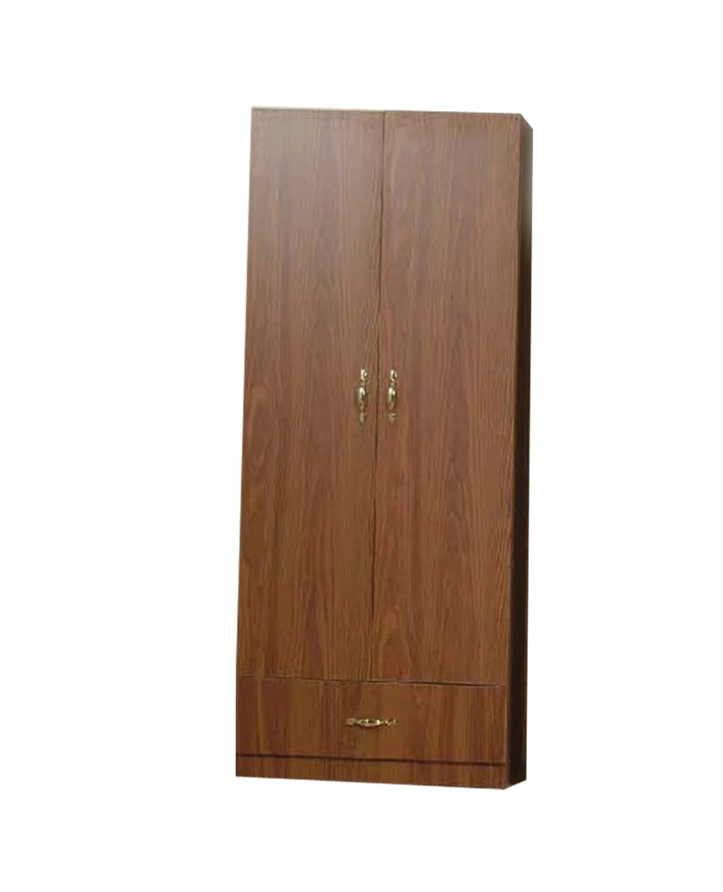 Wardrobe Furniture L 12a Brown Wooden Wardrobe W Drawer By Central Furniture Factory