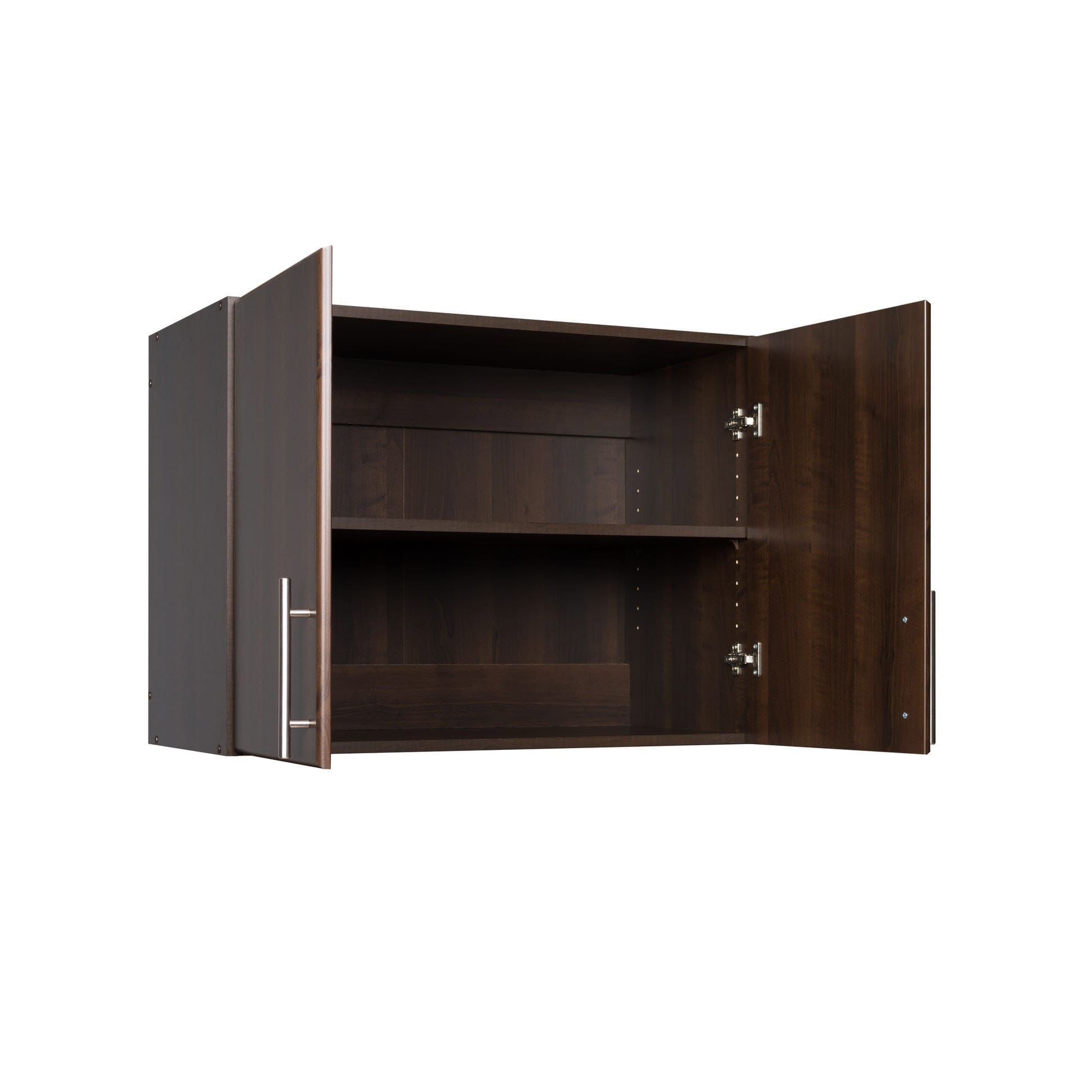 32 Kitchen Cabinet Elite 32 Inch Stackable Wall Cabinet Espresso By Prepac