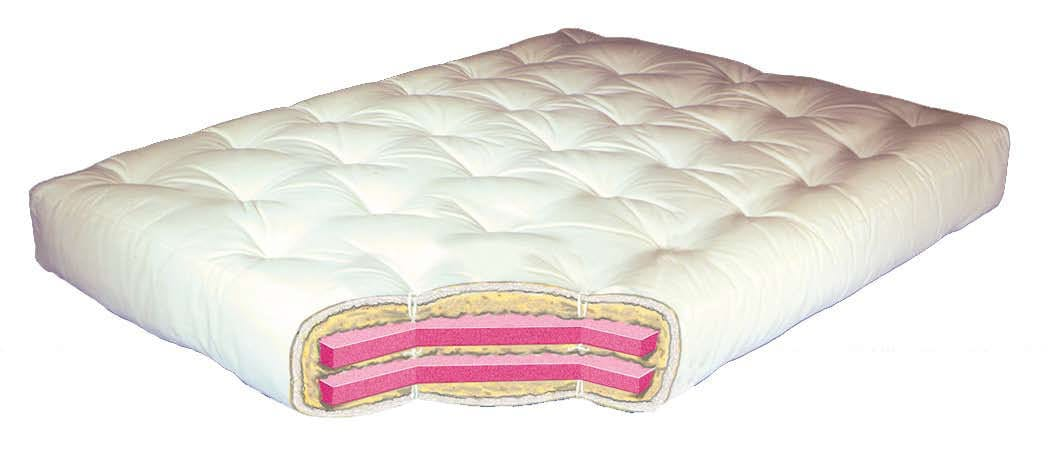 Wool Wrap Cotton And Double 8 Inch Futon Mattress by Gold Bond