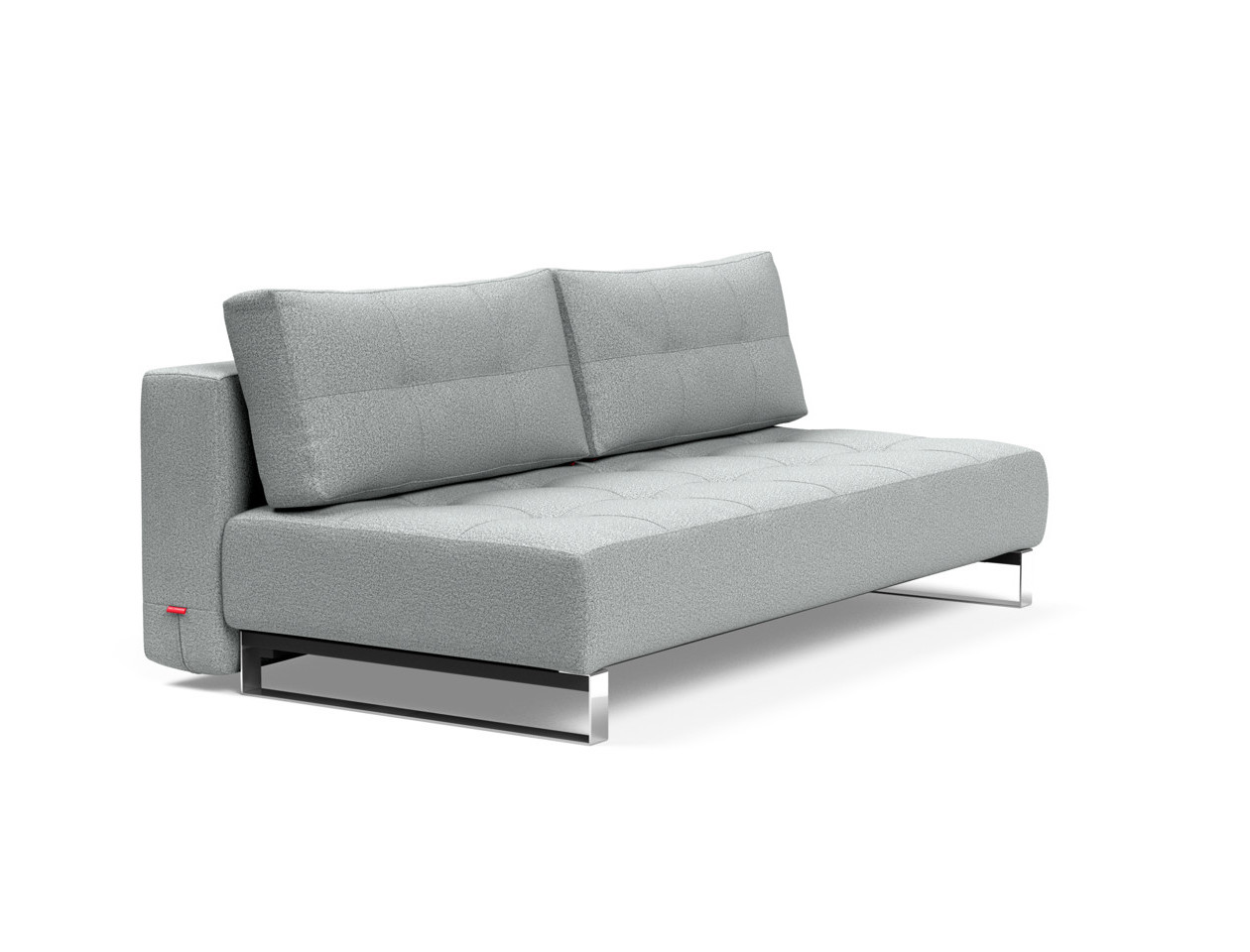Supremax Deluxe Excess Sofa Bed Queen Size Melange Light Gray By Innovation