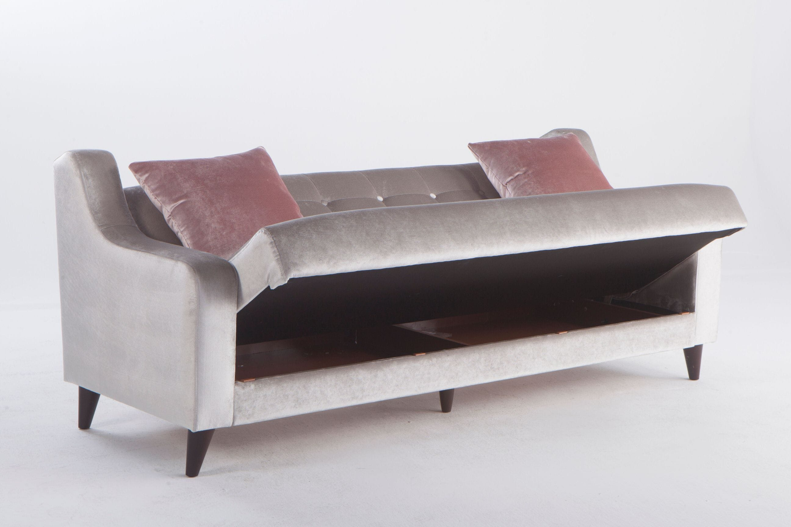 Futon Factory Paris Blair Deha Grey Sleeper Sofa By Istikbal Furniture