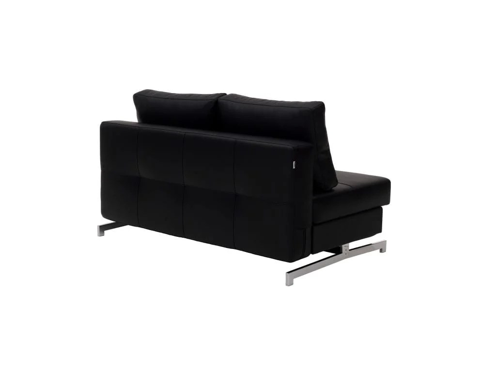 Queen Sofa Bed Modern Black Leather Textile Queen Sofa Sleeper K43 2 By Ido