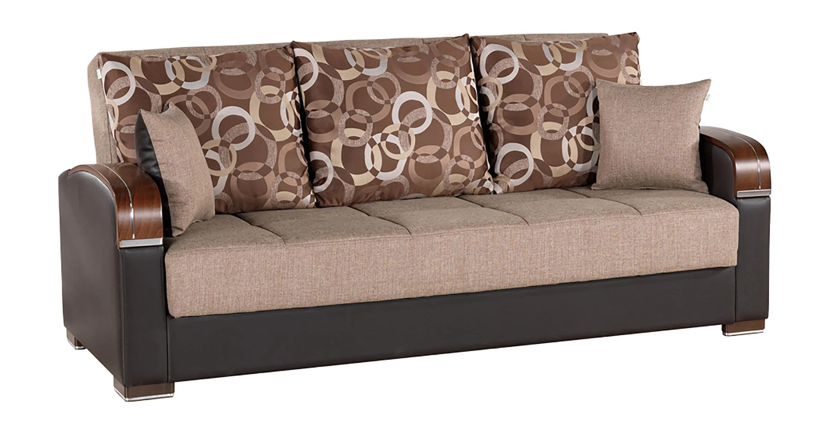 Sofa Beds Amsterdam Mobimax Brown Convertible Sofa Bed By Casamode
