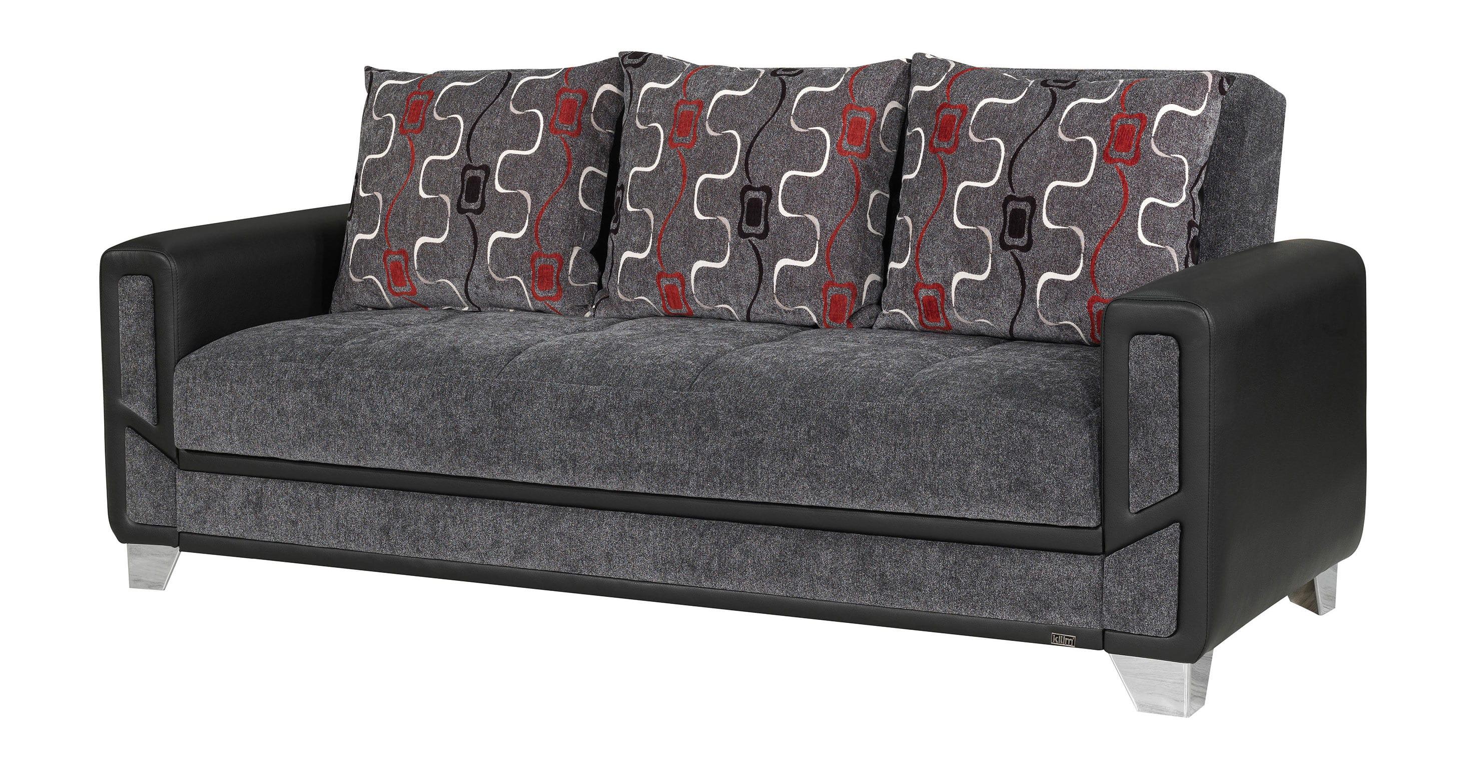 Sofa Bed Gray Diamond