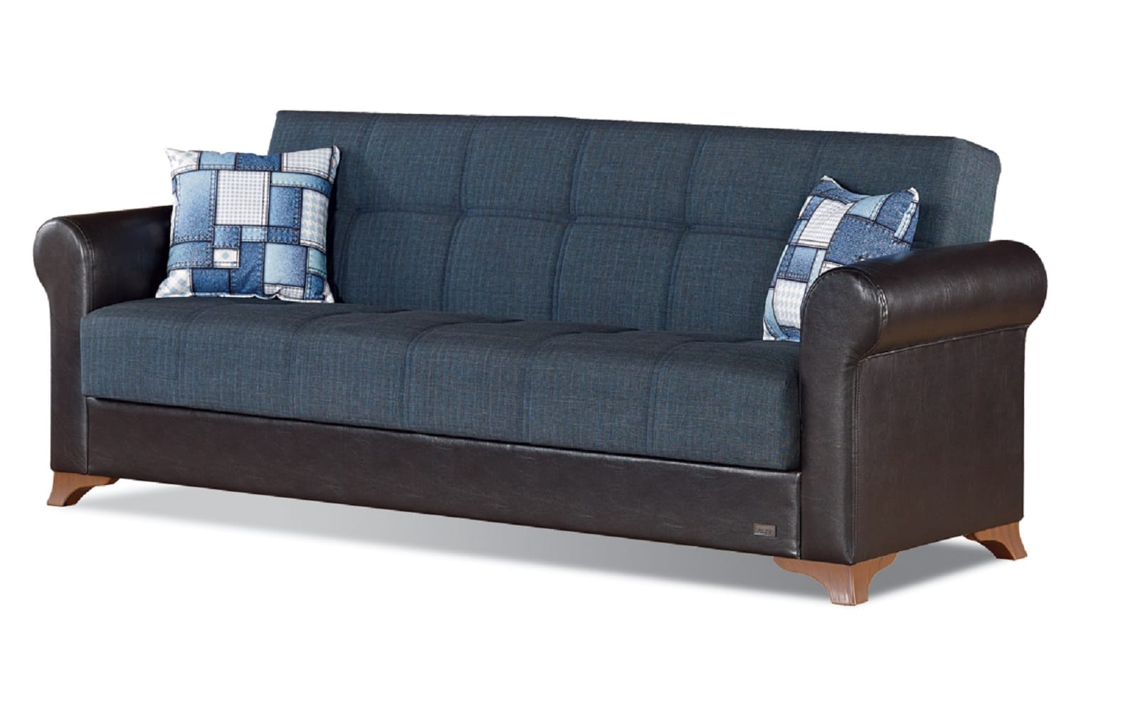 Hudson Grey Fabric Sofa Bed By Empire Furniture Usa