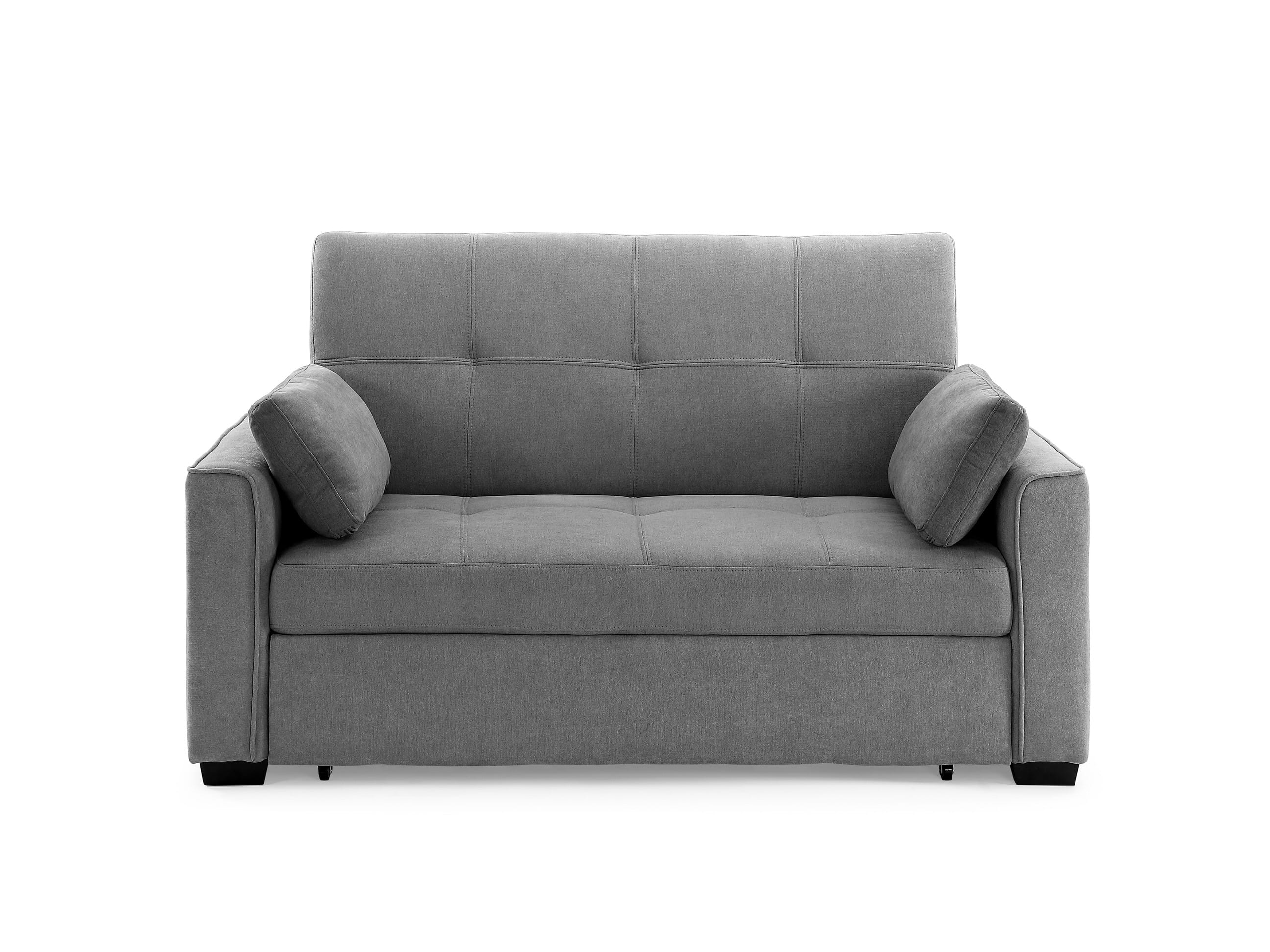 Sofa Beds Amsterdam Nantucket Loveseat Full Size Sleeper Light Gray By Night Day Furniture