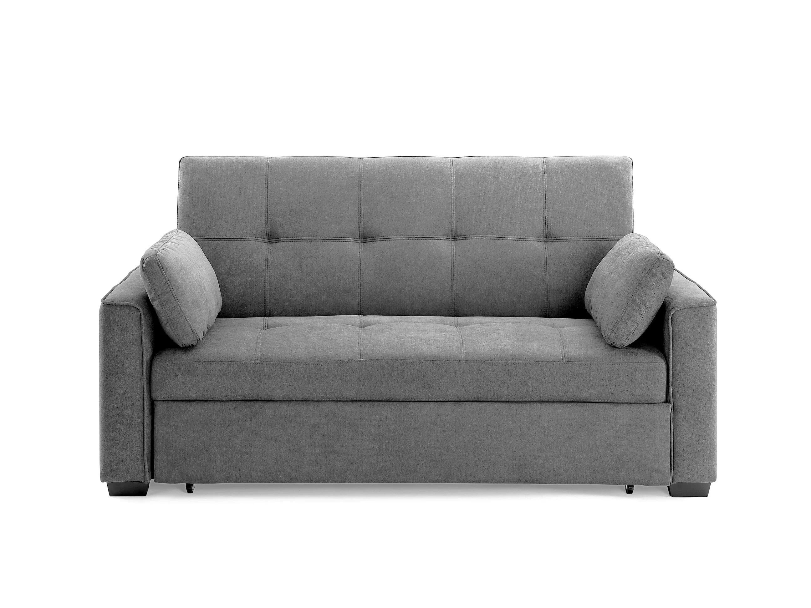 Nantucket Loveseat Queen Size Sleeper Light Gray By Night Day Furniture
