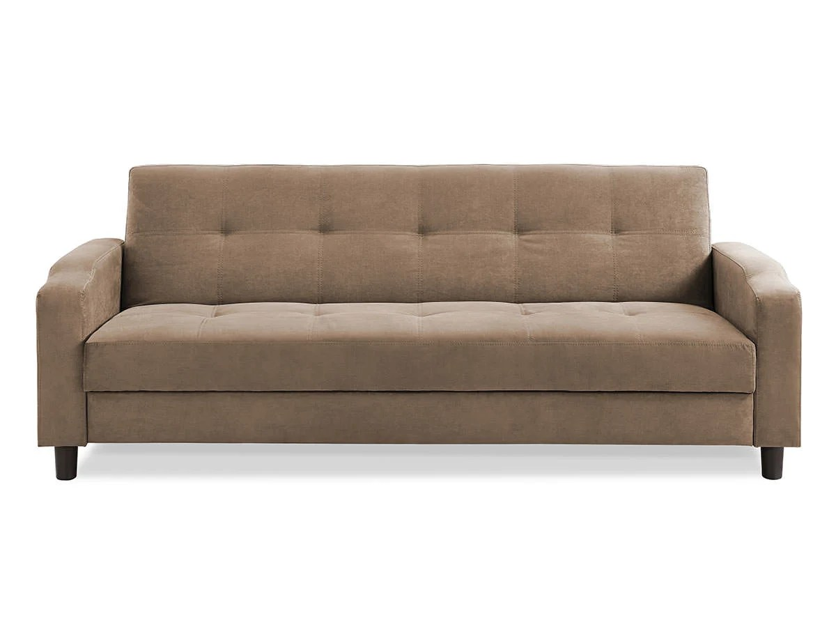 Sofa Reno Convertible Sofa Light Brown By Serta Lifestyle