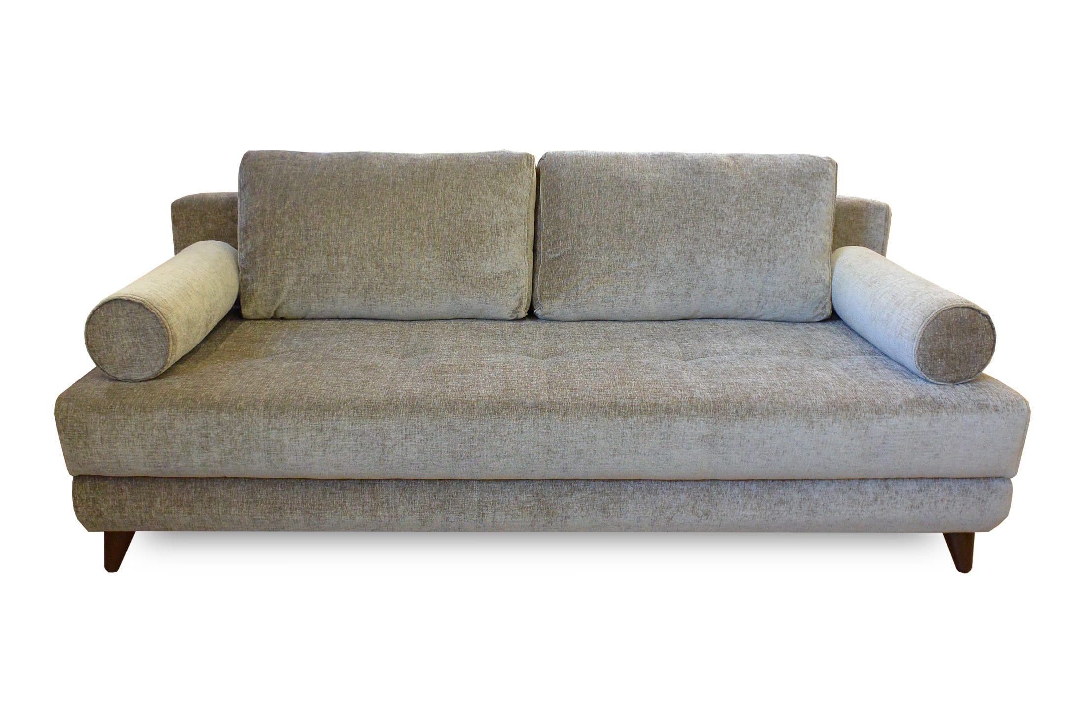 Futon Factory Paris Stella Jennefer Light Brown Convertible Sofa Bed Queen Sleeper By Istikbal Furniture