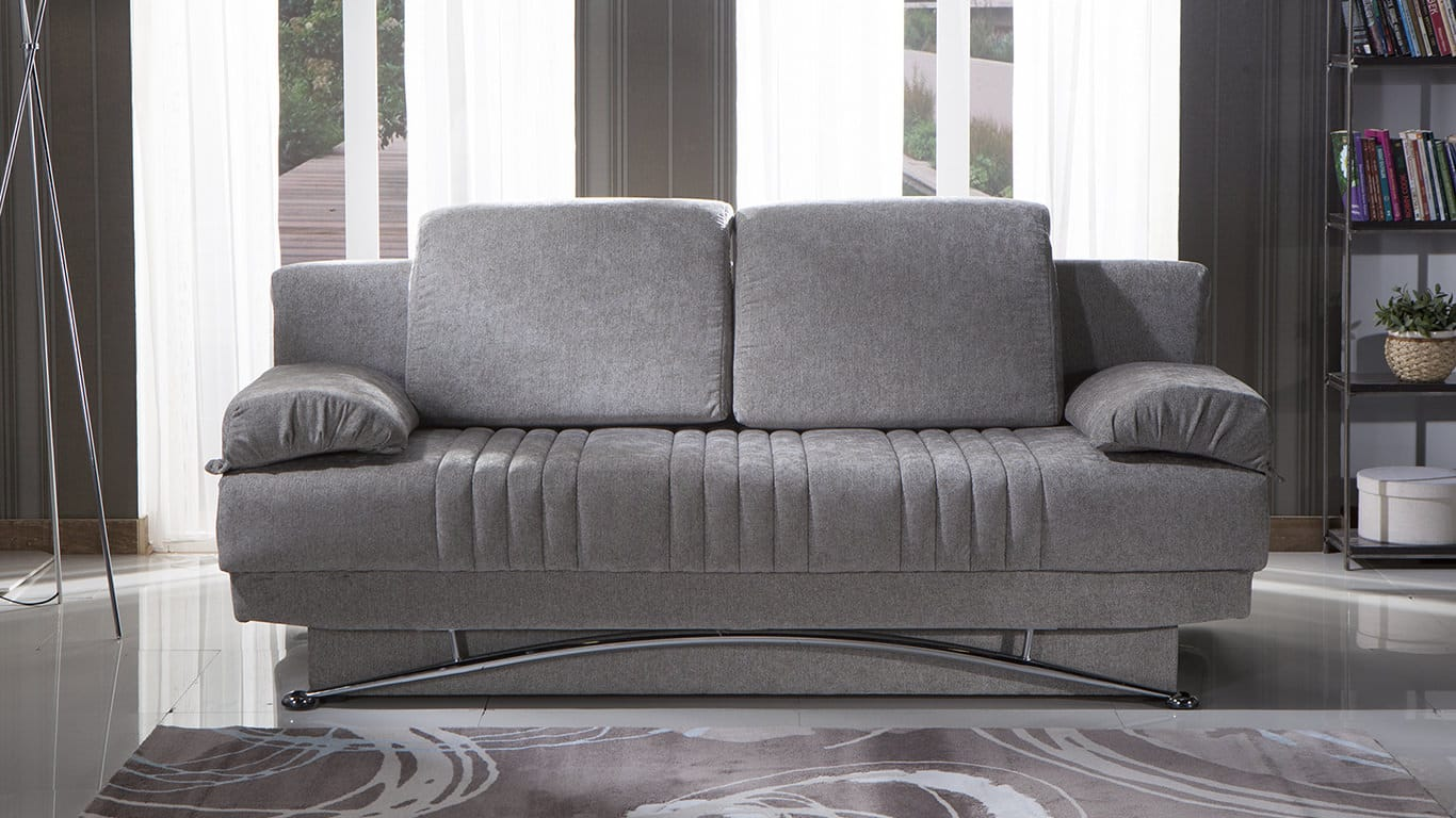 Furniture Stores In Valencia Ca Fantasy Valencia Gray Convertible Sofa Bed By Istikbal Furniture