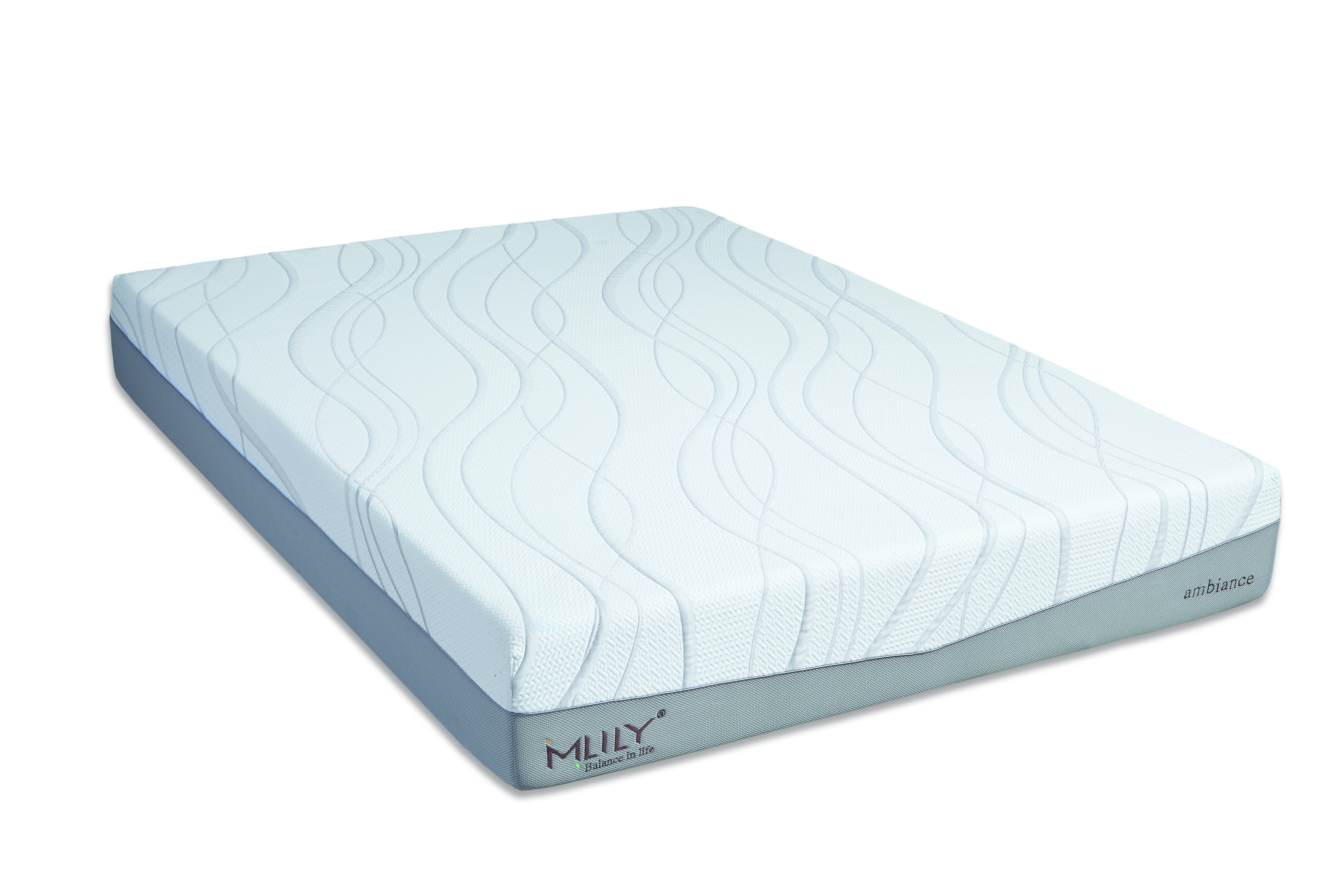 Memory Foam And Gel Mattress Ambiance 11 Inch Temperature Neutral Memory Foam W Gel Mattress By Mlily
