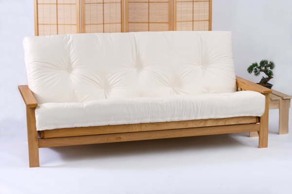 Ikea Sofa 595 Iowa 3 Seater Oak Futon Bed