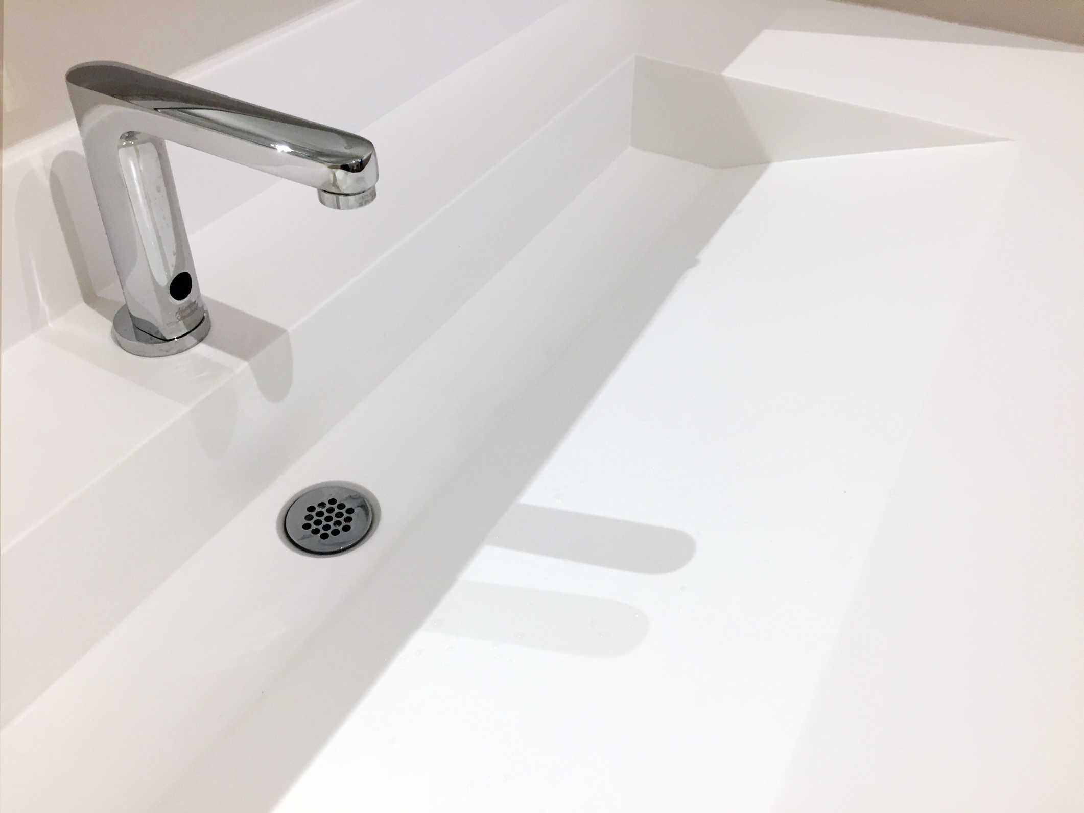 Futrus Solutions With Corian Design Trough Sink