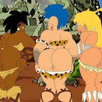 These amazon goddesses are just pleading to be boink rigid by a big beef whistle