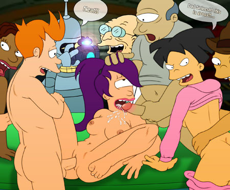 futurama leela and zoidberg porn