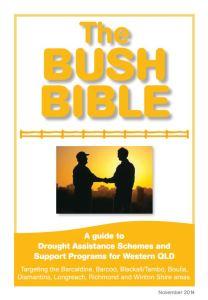 The Bush Bible