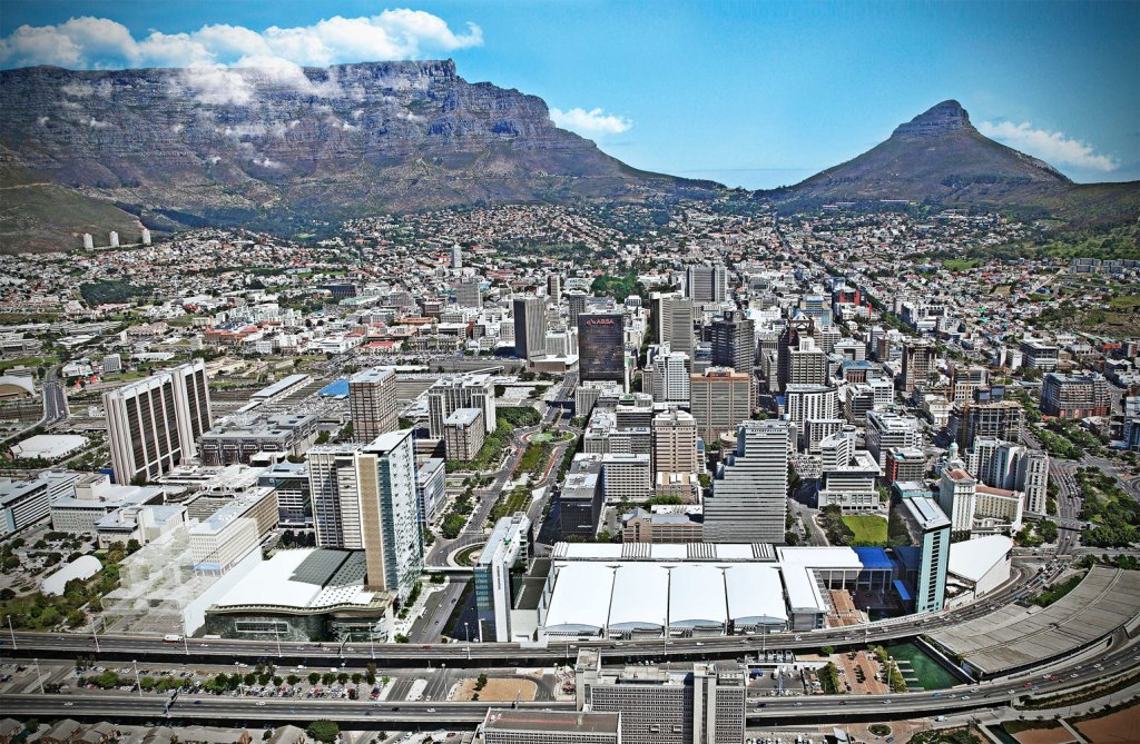 CTICC expansion aerial