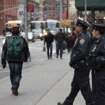 Extra police deployed to keep Lower Manhattan safe