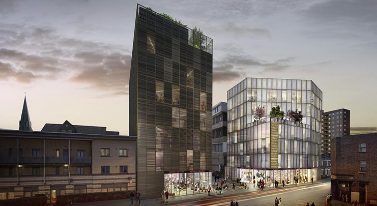 David Adjaye's £100m Hackney fashion hub