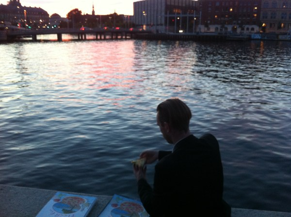 1. Harbour side pizza. Photo Justine Bell