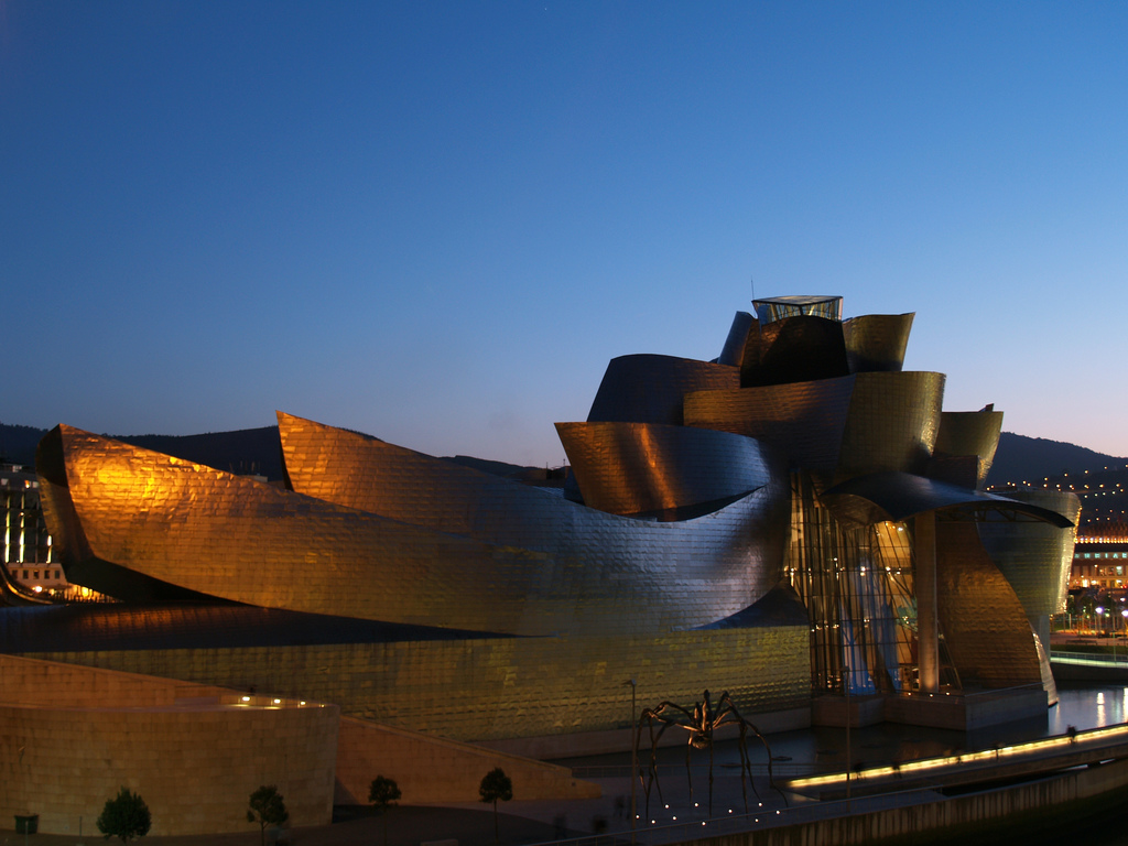 Bilbao's Guggenheim museum. Is London next? Photo: Marooned/ flickr