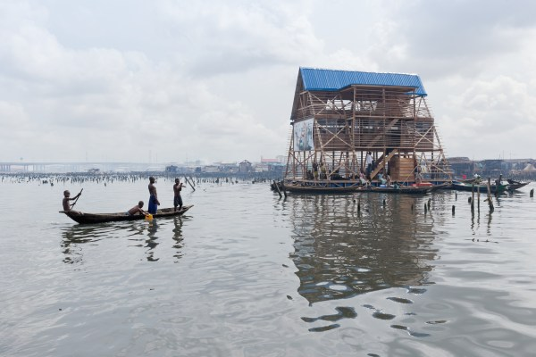 Makoko Floating School Image: www.architectural-review.com