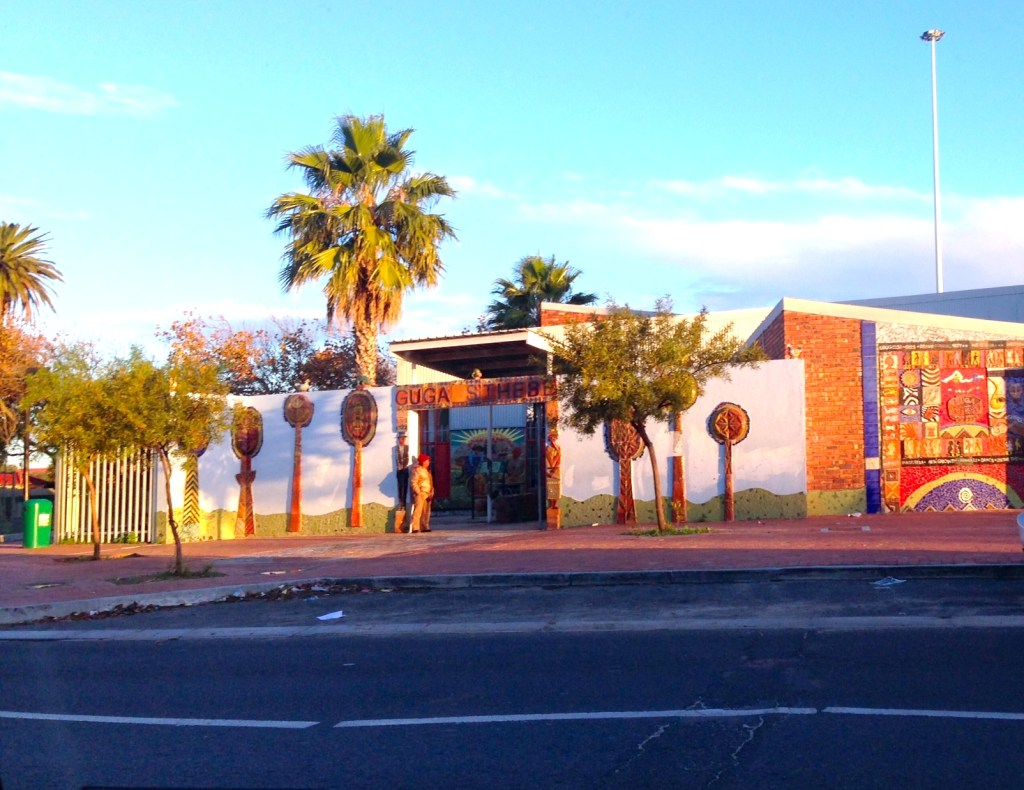 The Guga S'Thebe Arts and Culture Centre in Langa, which housed the Density Syndicate from the 12th to the 16th May (photo by Anna Brown)