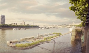 Thames Bath proposal by Studio Octopi. Source: Studio Octopi