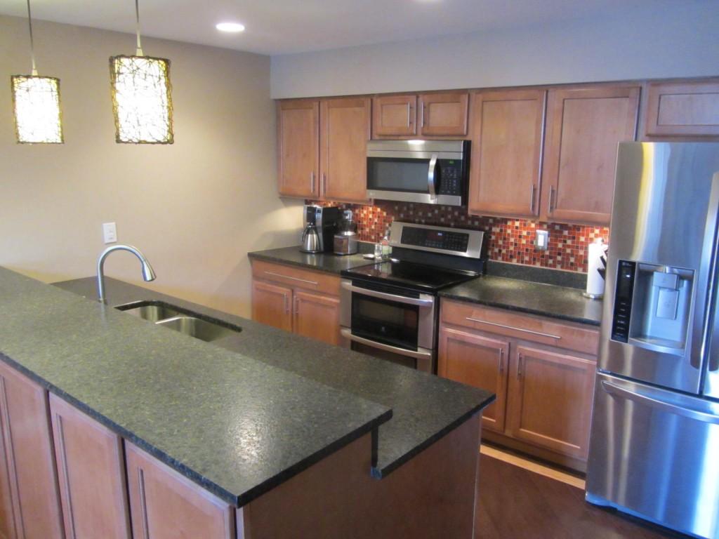 galley kitchen remodel galley kitchen remodel After Kitchen Remodel