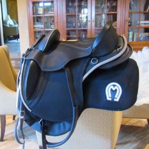 New Sensation Brazilian saddle!! With custom logo'd saddle pad too!