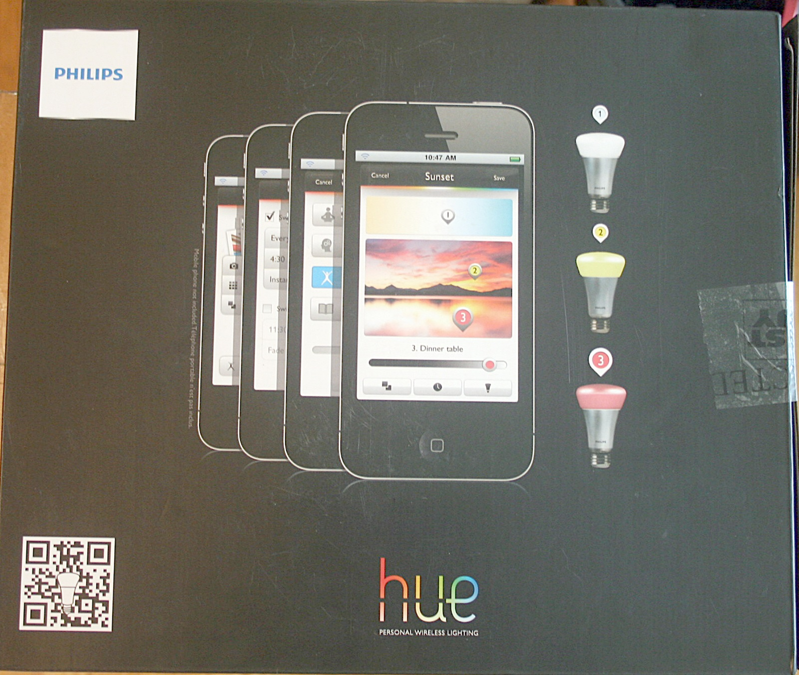 Philips Hue Examples Philips Hue A19 9w Personal Wireless Lighting Starter Kit