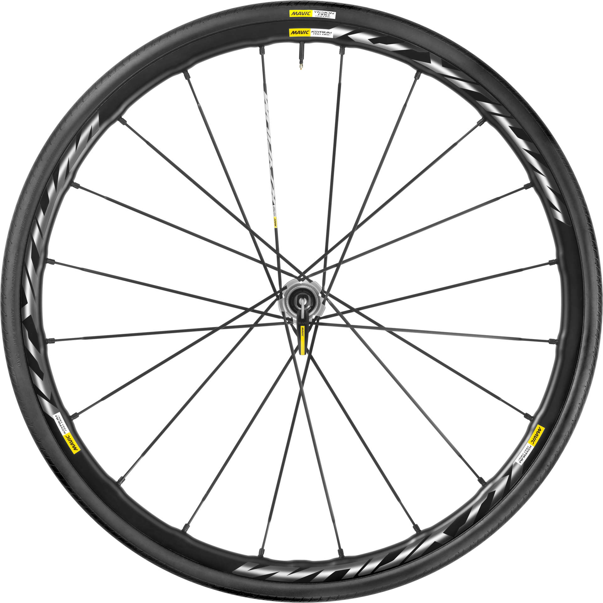 Prodisc Verlichting Ksyrium Pro Disc International Clincher Race Wielset Met 25mm Band Zwa