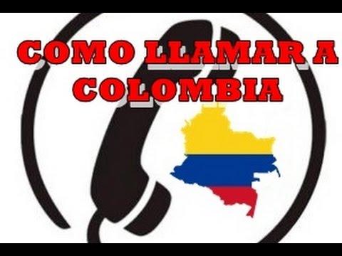 Números Telefónicos para Colombia Prefijo