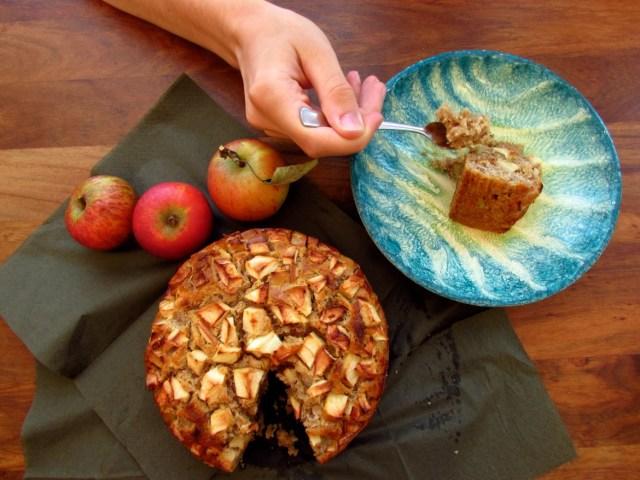 Apfelkuchen zuckerarm