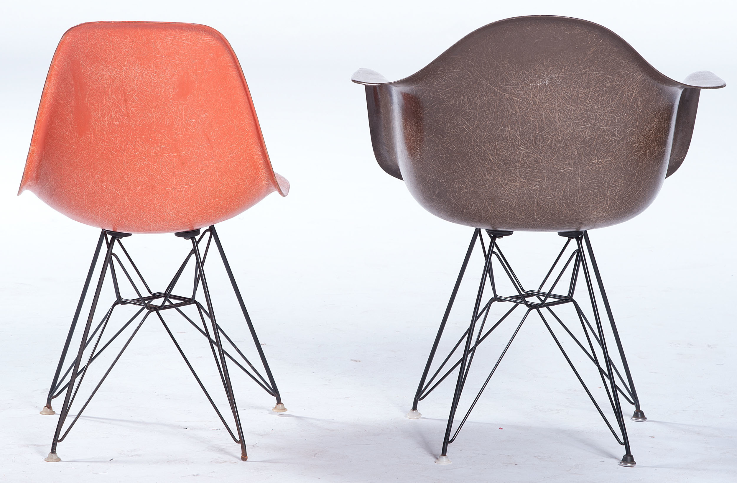 Eames Chair India Charles Eames For Herman Miller Armchair And Side Chair In