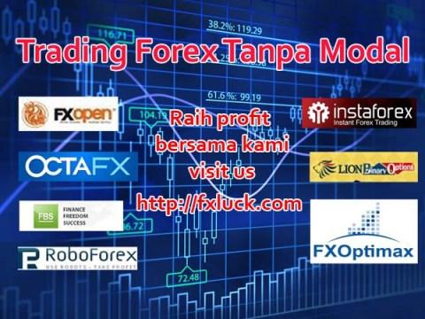 Trade forex tanpa modal