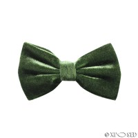 Mens Trendy Velvet Adjustable Bow Tie Cufflinks Hanky 3
