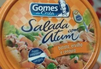 Salada com Atum Batata, Ervilha e Cenoura Gomes da Costa