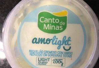 Requeijão Cremoso com Amido Light Canto de Minas