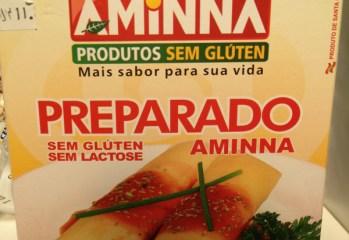 Mistura para massa de panquecas, crepes e canelones Aminna
