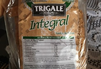 Pão Integral Light Trigale