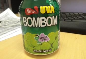 Refresco de Uva Verde New Uva Bombom