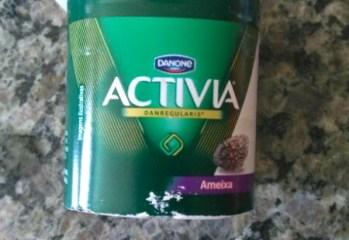 Iogurte Activia DanRegularis Ameixa Zero Danone