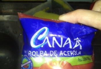 Polpa de Acerola Canaã